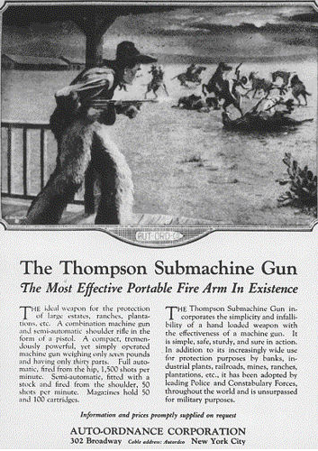 Anyone recall school shootings when Thompson submachine guns were available to the general public?