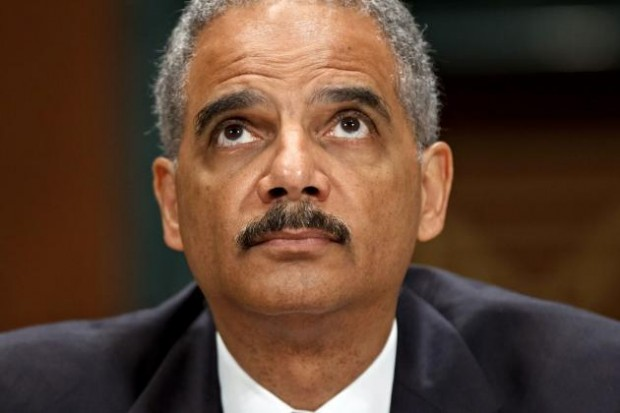 Eric Holder, like his boss, is a lying cockwaffle.