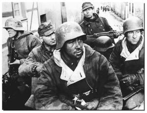 armed german soldiers