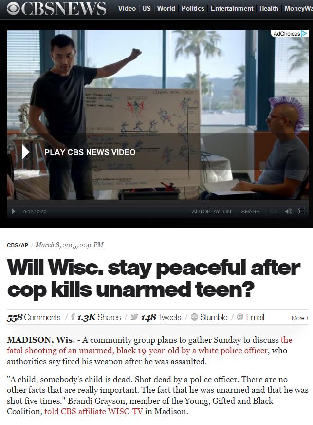 a child is dead-  CBS News