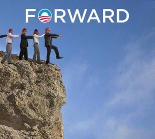 forward off cliff