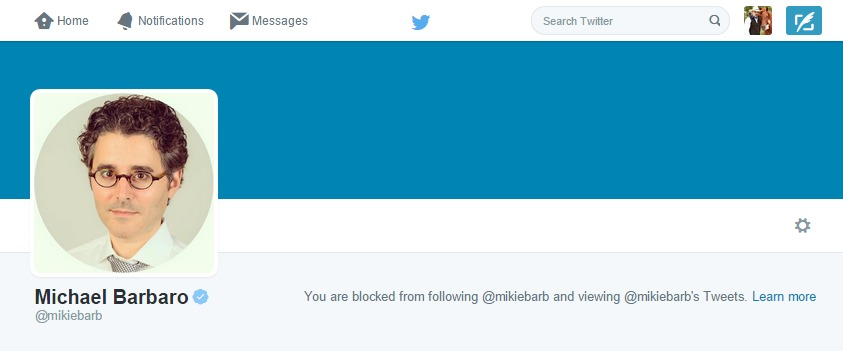 Gee, Mikey... was it something I said, sweetie?