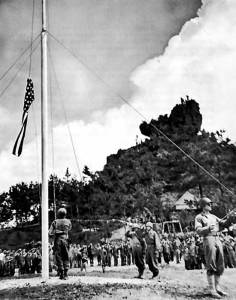 Okinawa US flag