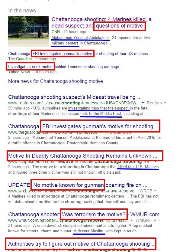 Chattanooga shooting motive