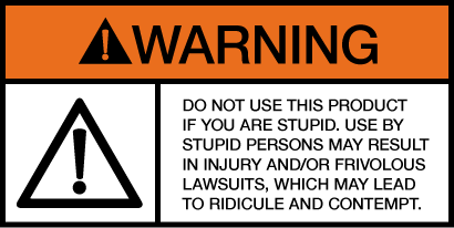 stupid warning