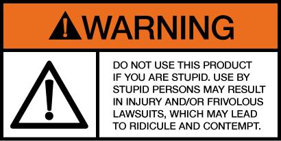 stupid warning